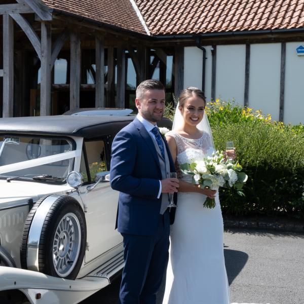 Wedding Magician at Amber and James wedding at Sandburn Hall near York 3
