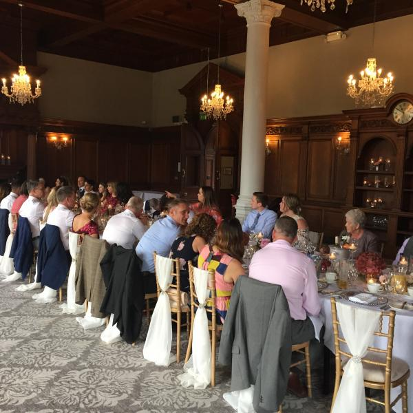 Magic for Doulla and Steve's wedding at the Principal Hotel in York 2