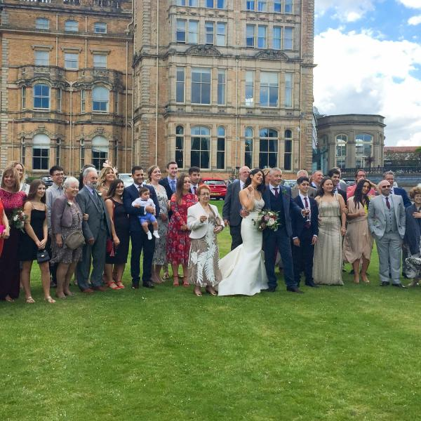 Magic for Doulla and Steve's wedding at the Principal Hotel in York 1