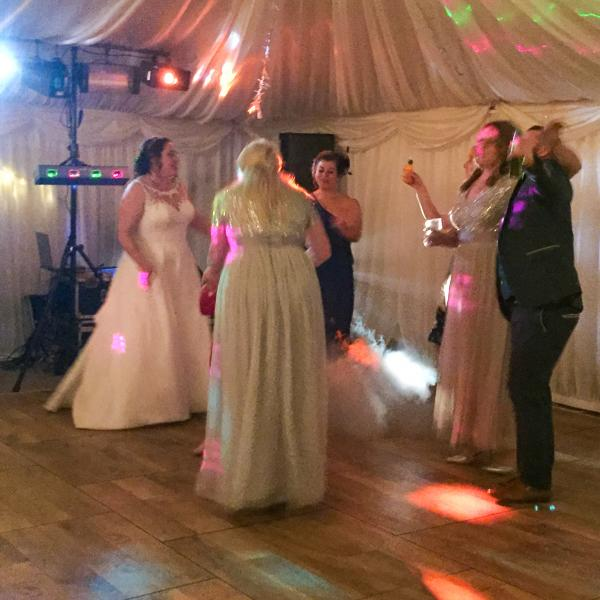 Magician for weddings at Ellen and David's wedding reception near Malton, North Yorkshire 1