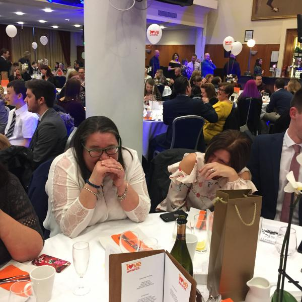 Magician at Sainsbury's Awards Event at York Racecourse 1