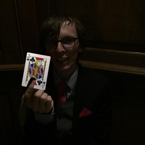 Magician at Sophie and Matt's Wedding at the Grand Hotel in York 5